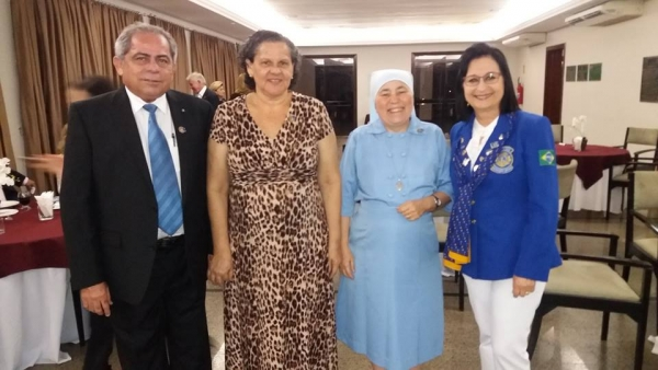Visita da Governadora Internacional no Ceará do Lions Clube